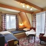 Pokój nr 5, 2-3-osobowy, balkon z widokiem na Giewont